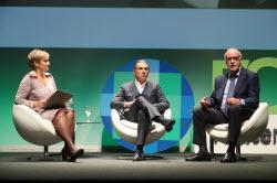 Gloria Serra, Sergio Scariolo y Vicente del Bosque
