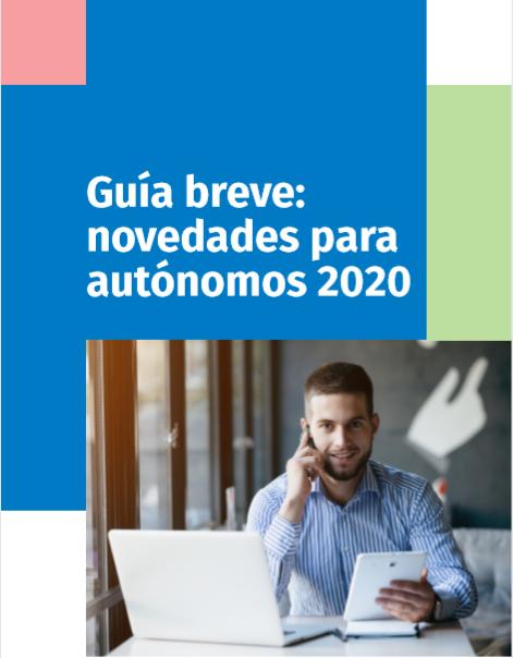 Guia novedades para  autonomos 2020