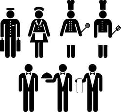 Excepciones en el control horario en el sector hotelero