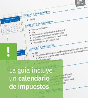 calendario de impuestos