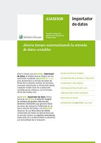 Ficha de producto de a3ASESOR | importador de datos
