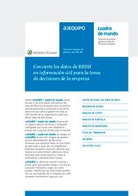 Ficha de producto de a3EQUIPO | cuadro de mando