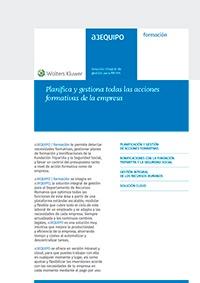 Ficha de producto de a3EQUIPO | formación