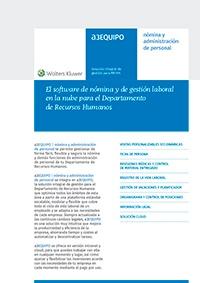 Ficha de producto de a3EQUIPO | nómina y administración de personal