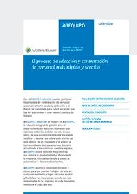Ficha de producto de a3EQUIPO | selección
