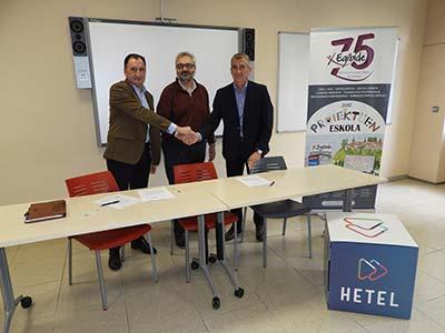 Wolters Kluwer firma un acuerdo con el centro EGIBIDE para impulsar la formación profesional de su alumnado