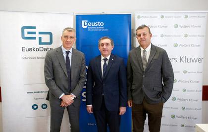 Wolters Kluwer firma un acuerdo con Deusto Business School para mejorar la formación en Recursos Humanos de su alumnado