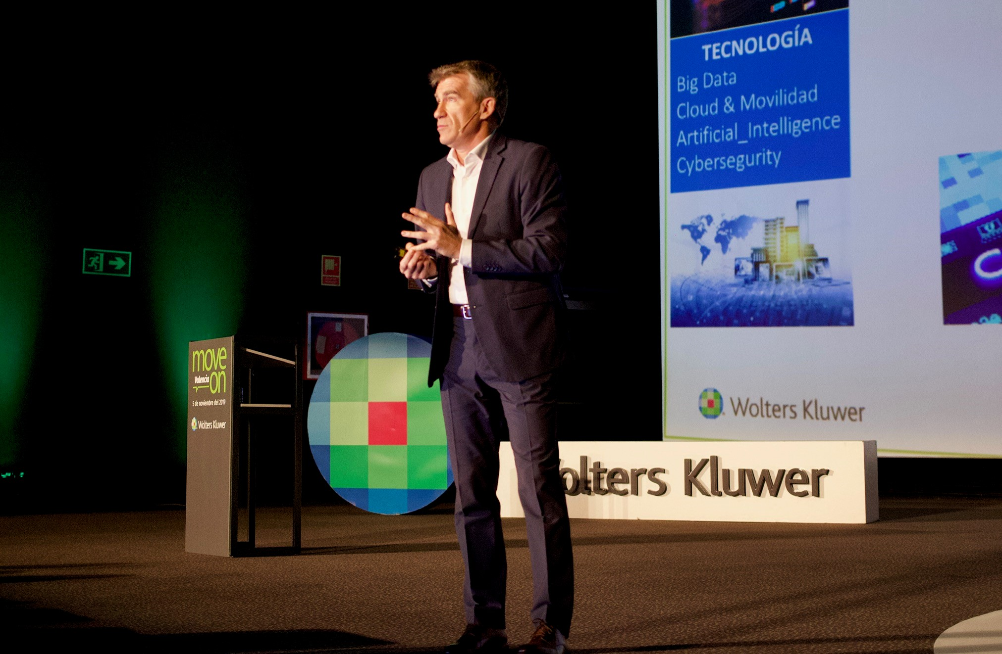 Wolters Kluwer impulsa la transformación empresarial de pymes y despachos en el evento Move On Valencia