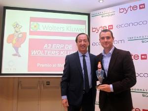 La solución a3ERP de gestión para pymes de Wolters Kluwer recibe el Premio Byte TI al Mejor ERP